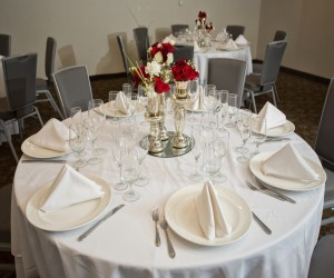 Our Conference Room - Catering and table setting services are available